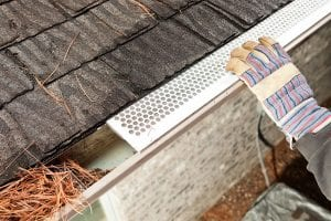 couple of options for gutter guards